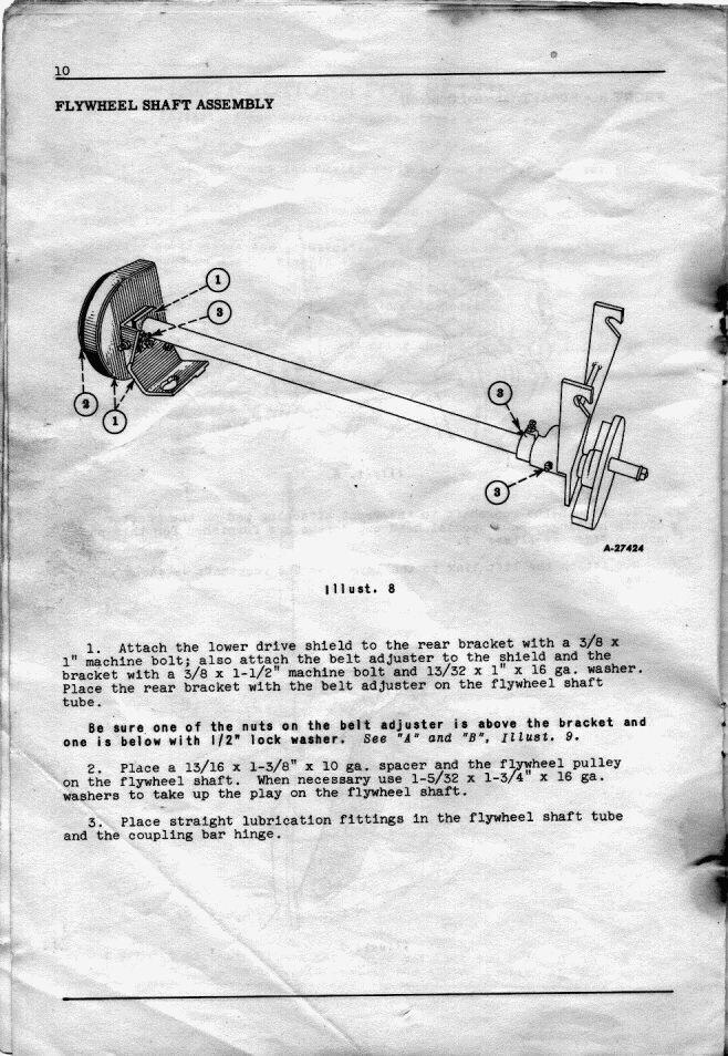 Farmall Cub Flywheel Diagram - Wiring Diagrams ROCK