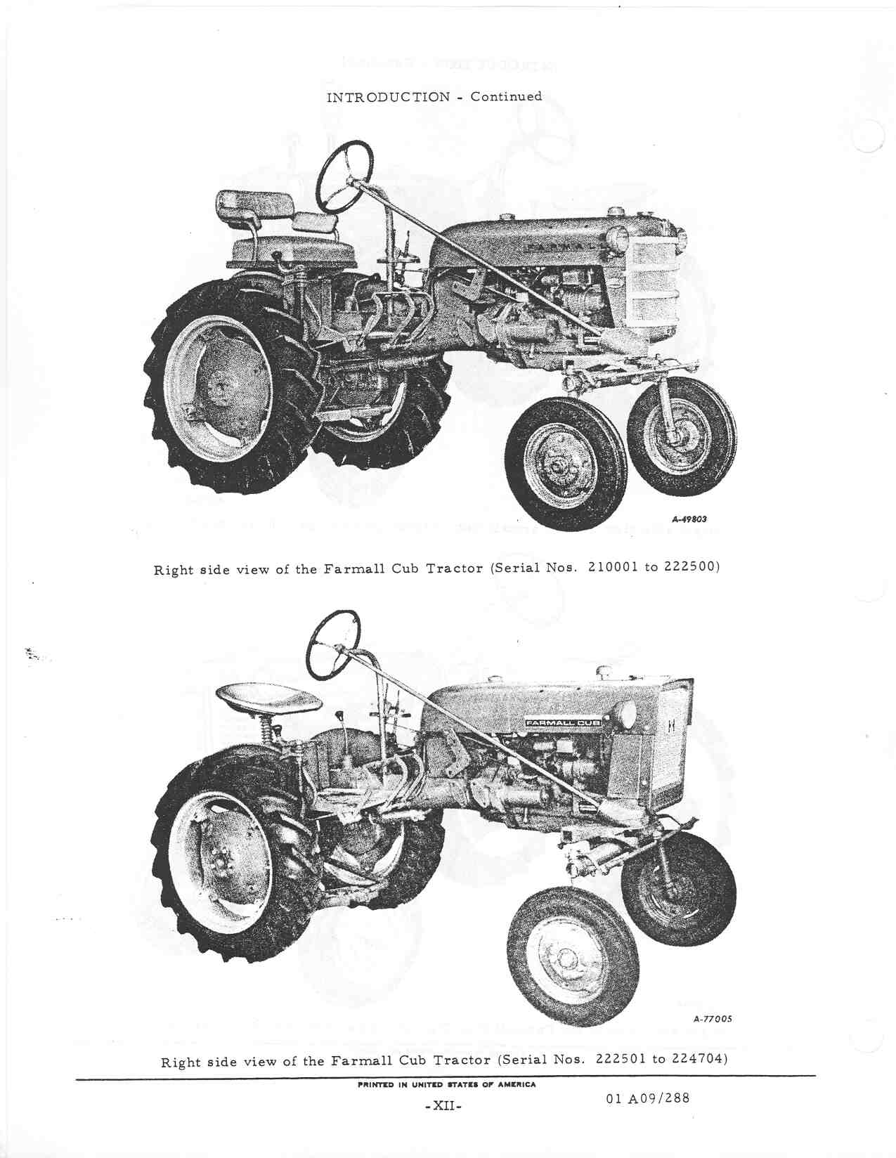 pin f cub parts images to pinterest