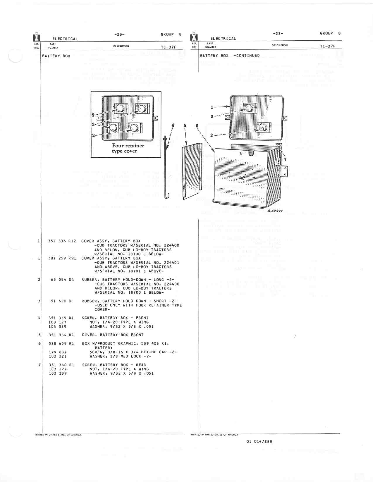 Lovely 1950 Farmall Cub Wiring Diagram Photos - Electrical System ...
