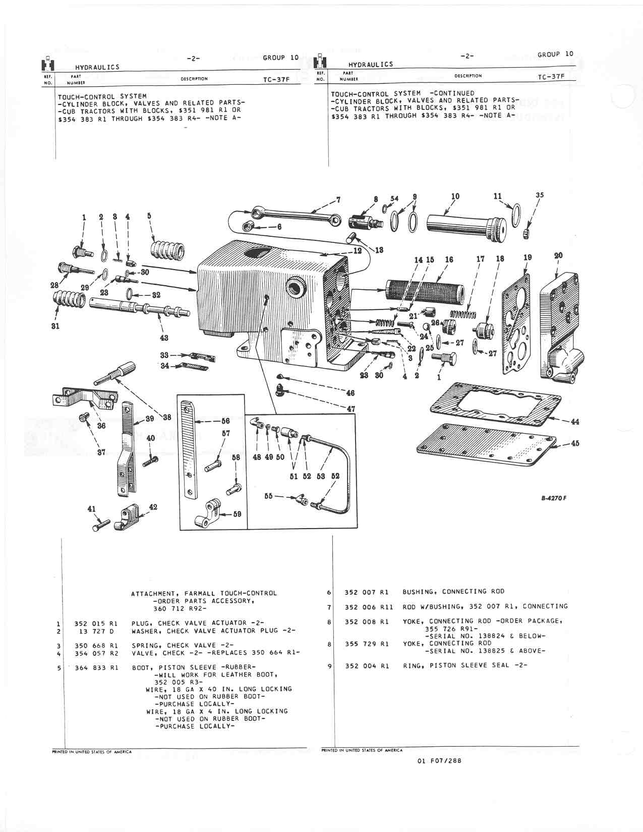 farmall super a hydraulic system diagram