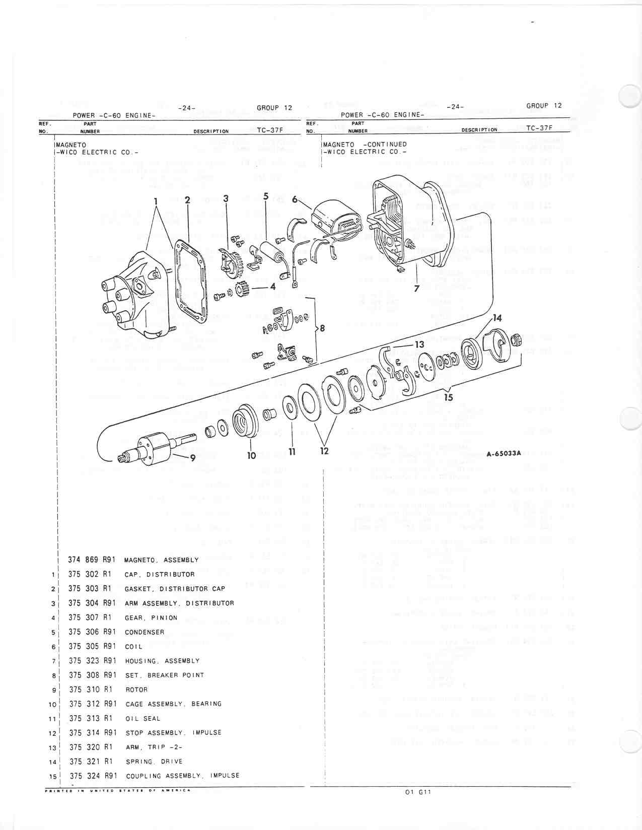 Switching ignition system - Farmall Cub