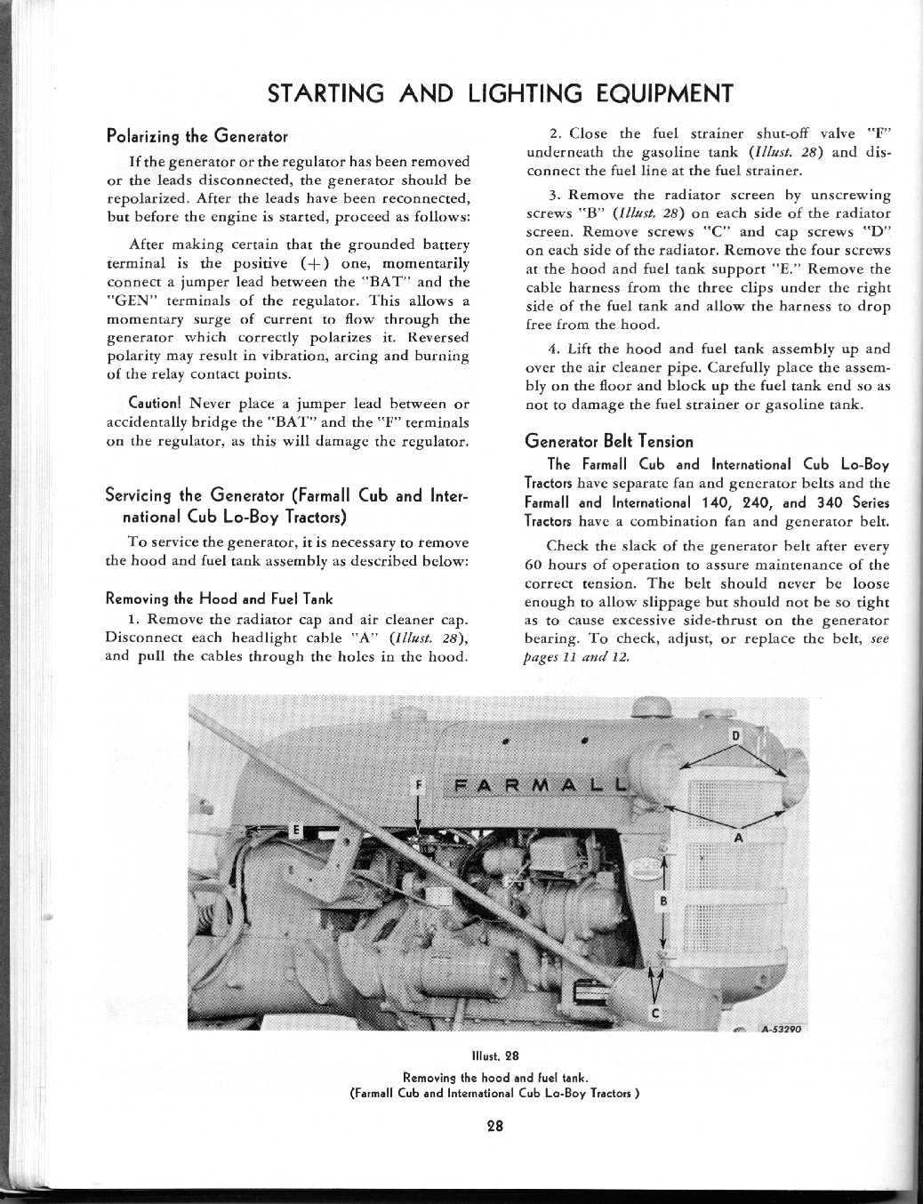 Full Text Of International Cub Tractor Wiring Collection 01 Harvetser Company Mccormick Farmall Manuals