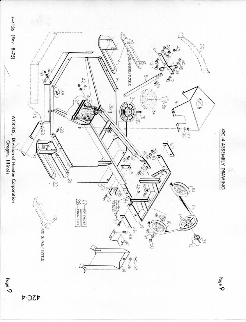 farmall woods belly mower belt diagram woods rm 400 belt diagram  elsavadorla IH Cub IH Cub